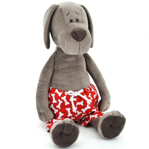 Orange Life Collection OS099/25. Soft toy Cookie 25cm, the dog in pants.