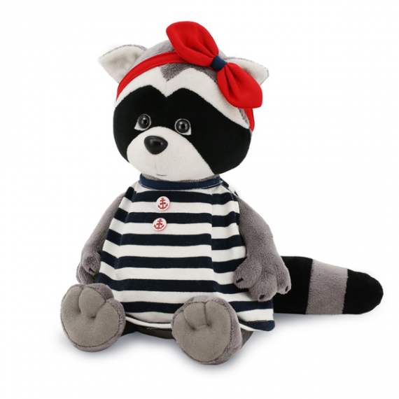 Orange Life Collection OS632 / 25. Soft toy Daisy, Sailor Raccoon 20cm.