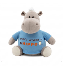 Orange Life Collection MS6207 /20. Po soft toy 20cm, the hippopotamus.