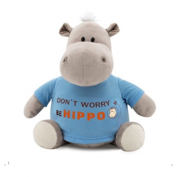 Collection Orange Life MS6207 / 20. Po peluche 20cm, l'hippopotame.