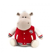 Orange Life Collection MS6205/30. Po soft toy 30cm, the hippopotamo with jacket.