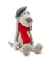 Orange toys 7638/20. Pierre soft toy 20cm. The dog with red scarf.