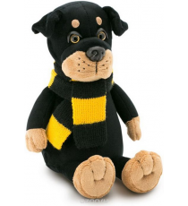 Orange toys 7649/20. Bax soft toy 20cm. The rottweiler with scarf.