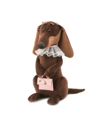 Orange Toys 7640/30. Emma soft toy 30cm, the dachshund dog.