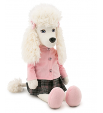 Orange Toys 7003/35. Julie soft toy 35cm, the poodle.
