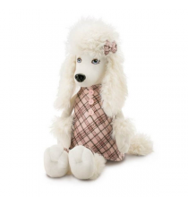 Orange Life Collection 7002/25. Peluche Lora 25cm, la poodle.