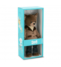 Orange toys LD021. Lucky Alex soft toy 30cm. Bear trendy style