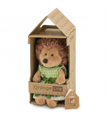 Orange Toys OS681 / 20. Hedgehog with green dress.
