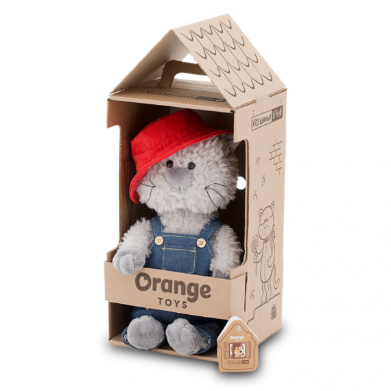 Jouets orange OS0685 / 25. Buddy, le chat errant 25cm.