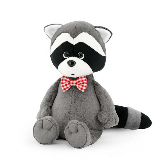 Orange Toys OS614 / 15. Denny, the raccoon with bow tie 15cm.