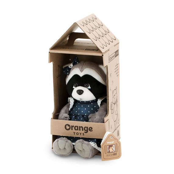 Orange Toys OS670 / 15. Daisy, the raccoon with a 15cm cowboy dress.