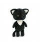 Orange Toys 9042/20. Mini Gato Negro. Peluche 20cm.