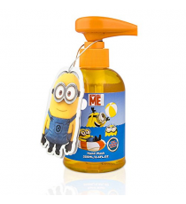 Minions 229395. orange liquid soap dispenser 250 ml. with Minion talkative