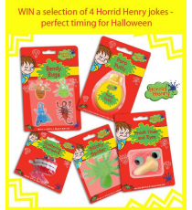 HORRID HENRY JOKES ASSORTMENT
