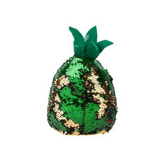 Glitzies 453107. Sof toy pineapple with sequins 25cm. Random model.
