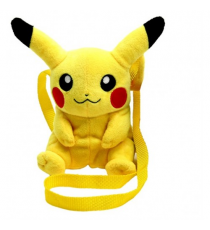 Pokemon 760015203. Soft Shoulder Bag. Pikachu 15 cm.
