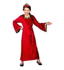 Tudor Princess - Regal Red (5-7) **CLR**