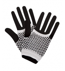 Gloves AC-9387. White color.