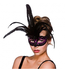 Black and pink mask. 8333
