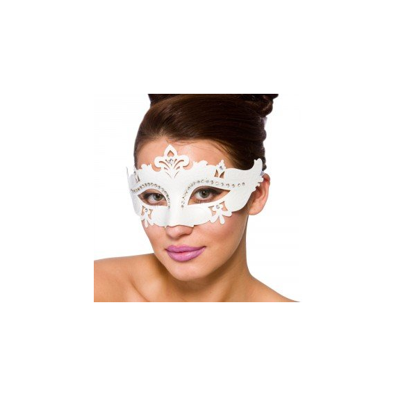 White mask with bright 9583.