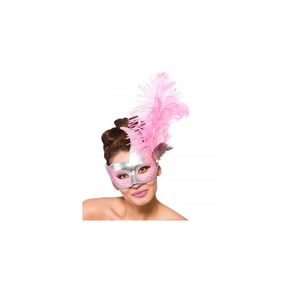Wicked Costumes MK-9957-SP. Pink mask for woman.