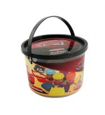 Disney 1045-03550. Bucket with plasticine and accessories. Cars Design