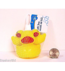 Bath Toys 176019. Set of 3 rubber duckies.