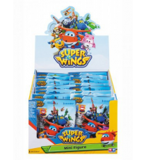 Super Wings YW71900B - Mini Figura. Display 26 unidades.