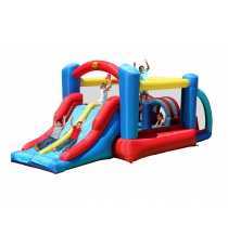 Happy Hop 9163. Castillo Hinchable: Rancing Fun Bouncer.