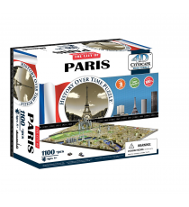 Eleven Force 40028. Puzzle 4D cities. Paris design 1100 pezzi.