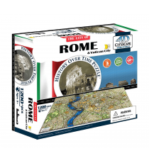 Eleven Force 40042. Puzzle 4D cities. Rome Design 1200 pezzi.