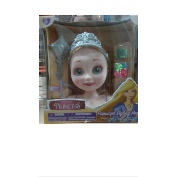 Disney Princesses 22590. Rapunzel Styling head..