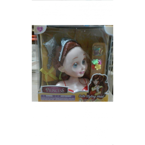 Disney Princesses 22591. Bella Styling head.
