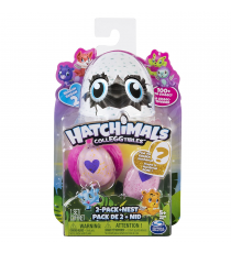 Hatchimals 6041329. Two eggs and a pink nest.
