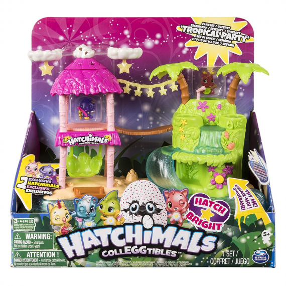 Hatchimals 6044052. Playset: Tropical Party.