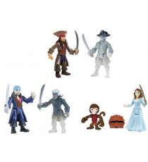 Pirates des Caraïbes 6035323. Lot de 2 figurines.