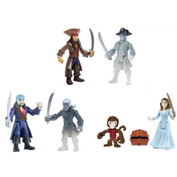 Pirates of the Caribbean 6035323. Pack of 2 figures.