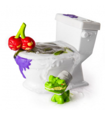 Flush force WC 6037313. Bathroom with two characters. Unit.
