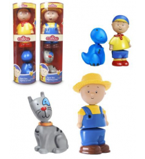 Caillou. Tube with two figures. Random model