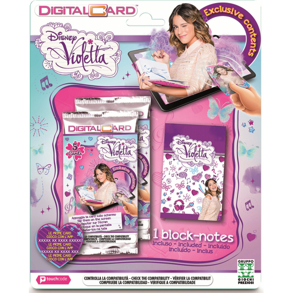 Violetta Touch Code Digital Card