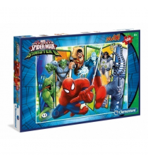 Clementoni 7530. Spiderman Sinister Six. Maxi Puzzle 100 pieces.