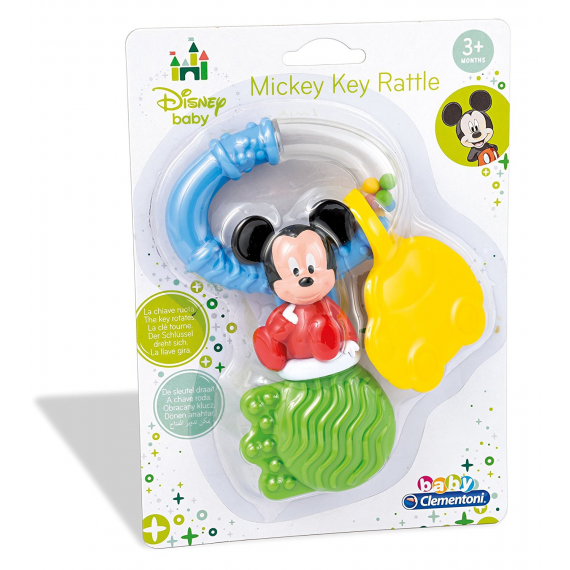 Mickey Mouse 14506. Key rattle