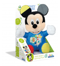 Clementoni 17206. Baby Mickey soft toy with lights and sounds.