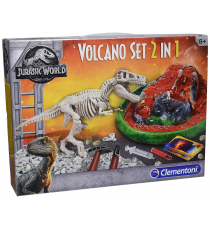 Clementoni 19064. Jurassic World. Set Volcano 2 in 1