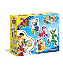 Clementoni 20807. Mickey and the Roadster Racers. Puzzle 3-69-12 pieces.
