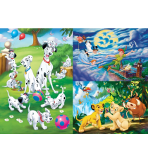 Disney Classic - Set Puzzles (3x48 pieces)