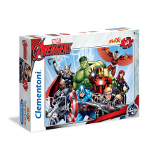 Clementoni 267507. The Avengers. Puzzle 60 pieces.