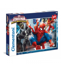Puzzle 104 Piezas - Spiderman Web Warrior
