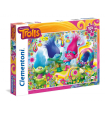 Clementoni 27967. Puzzle of 104 pieces. Trolls
