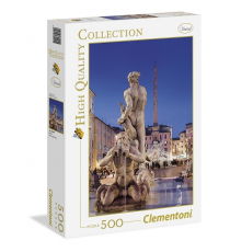Clementoni 304455. Piazza Navona design. Puzzle 500 pieces.